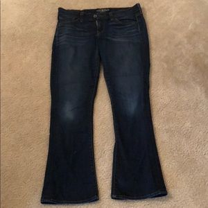Lucky brand Charlie baby bootcut jeans 8/29